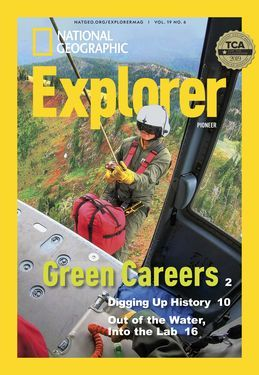 Cover for Pioneer (Grade 2) issue 2020-04