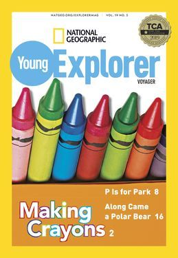 Cover for Voyager (Grade 1) issue 2019-11