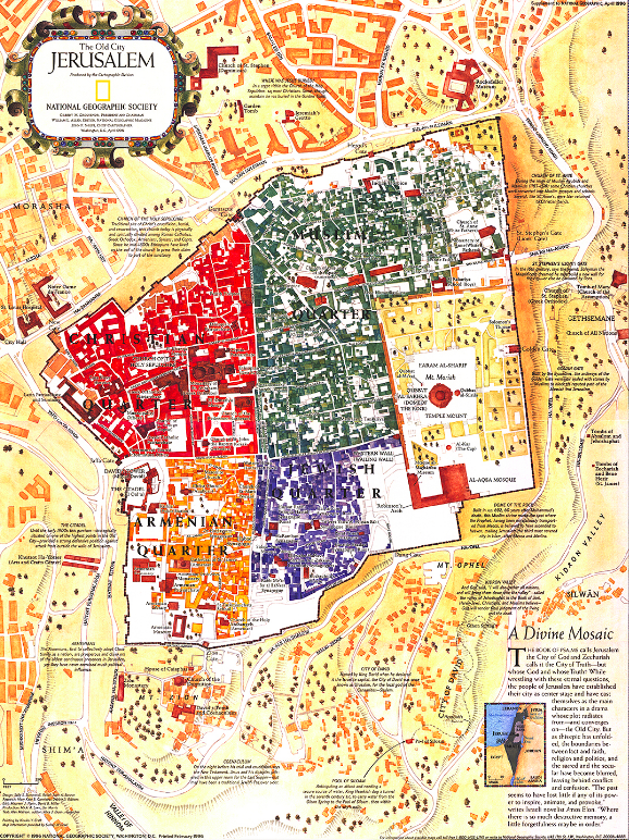 1996 jerusalem the old city national geographic society gumiabroncs Image collections