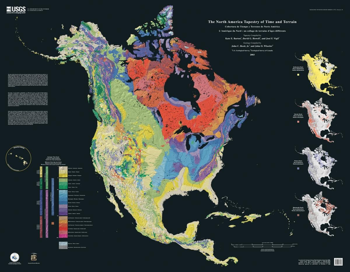 Natural Geologic History Of Texas
