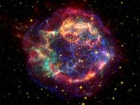 Photo: Star explosion