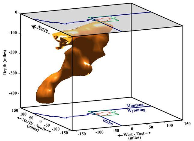 Yellowstone Magma Plume