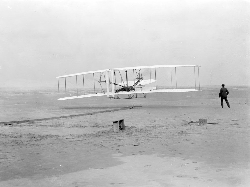 when was the first successful airplane flight
