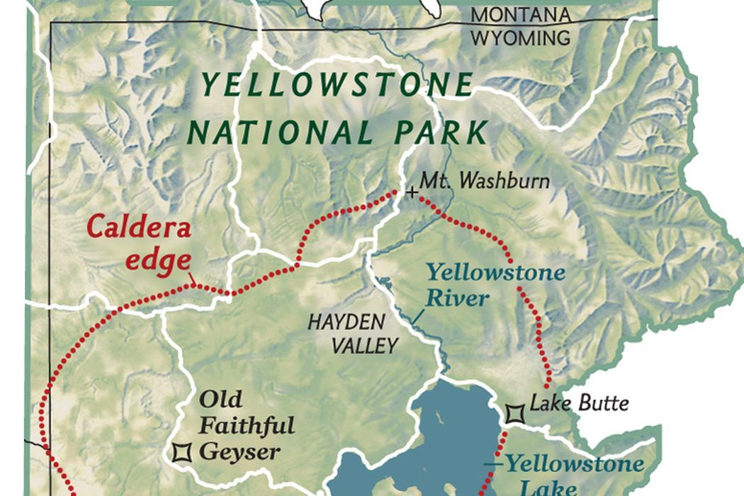 When a Sleeping Giant Awakes | National Geographic Society Yellowstone Destruction Map on rainier destruction map, yosemite caldera map, everglades destruction map, yellowstone destruction radius, yellowstone destruction zone, yellowstone super volcano effects, yellowstone fallout projections super volcano,