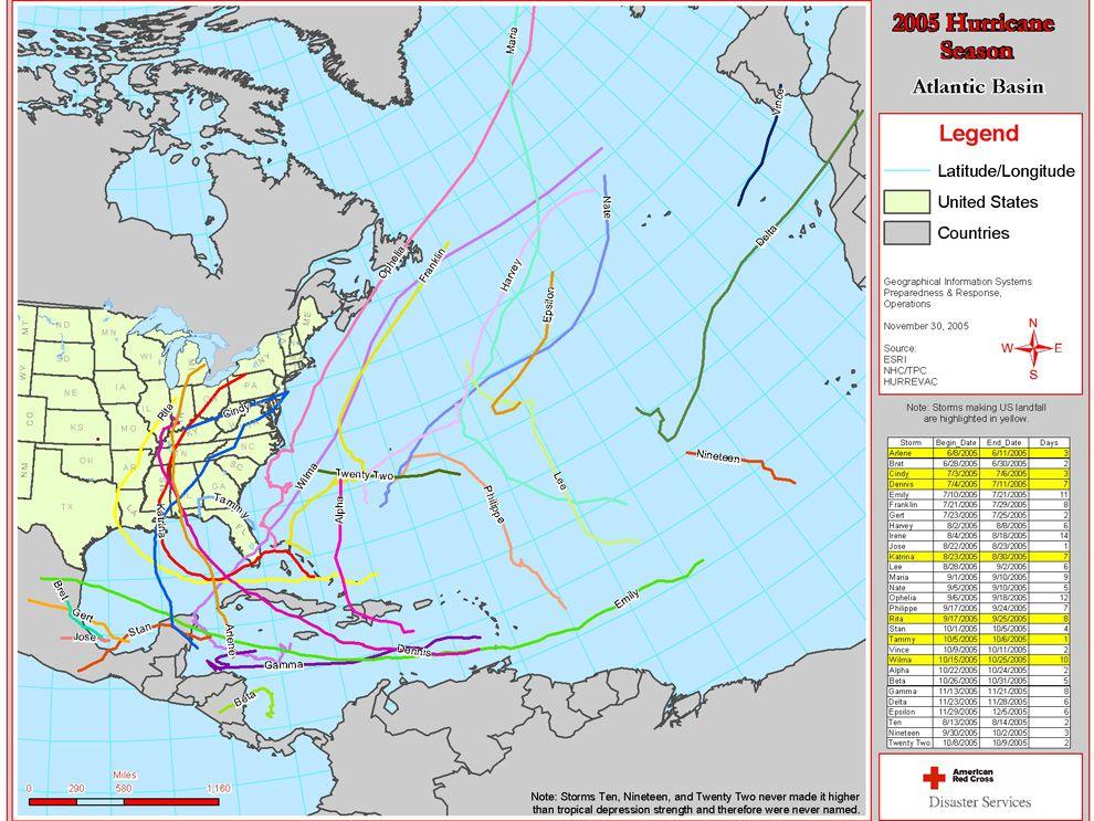 2005 Hurricane Season National Geographic Society
