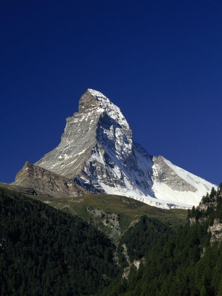 The Matterhorn  A Glacial Horn