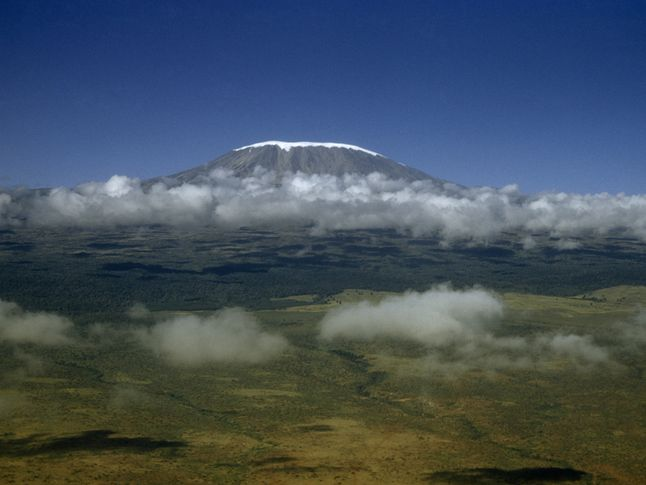 Ice Cap on Mount Kilimanjaro