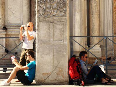 Photo: Travelers.