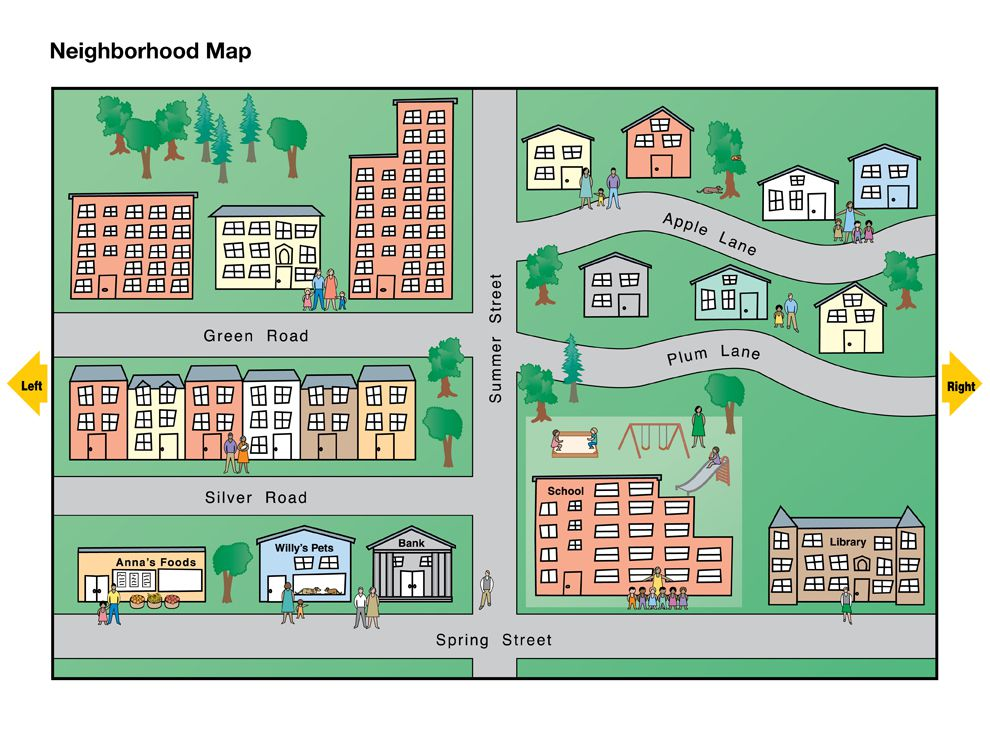 Neighborhood Map - National Geographic Society