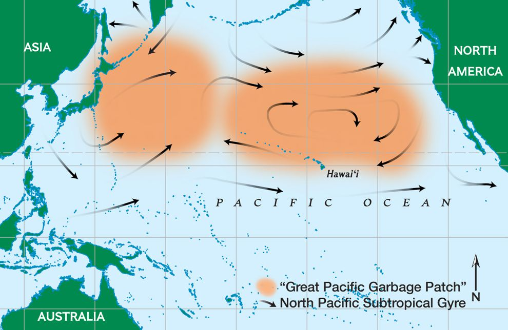 image of Great Pacific Garbage Patch