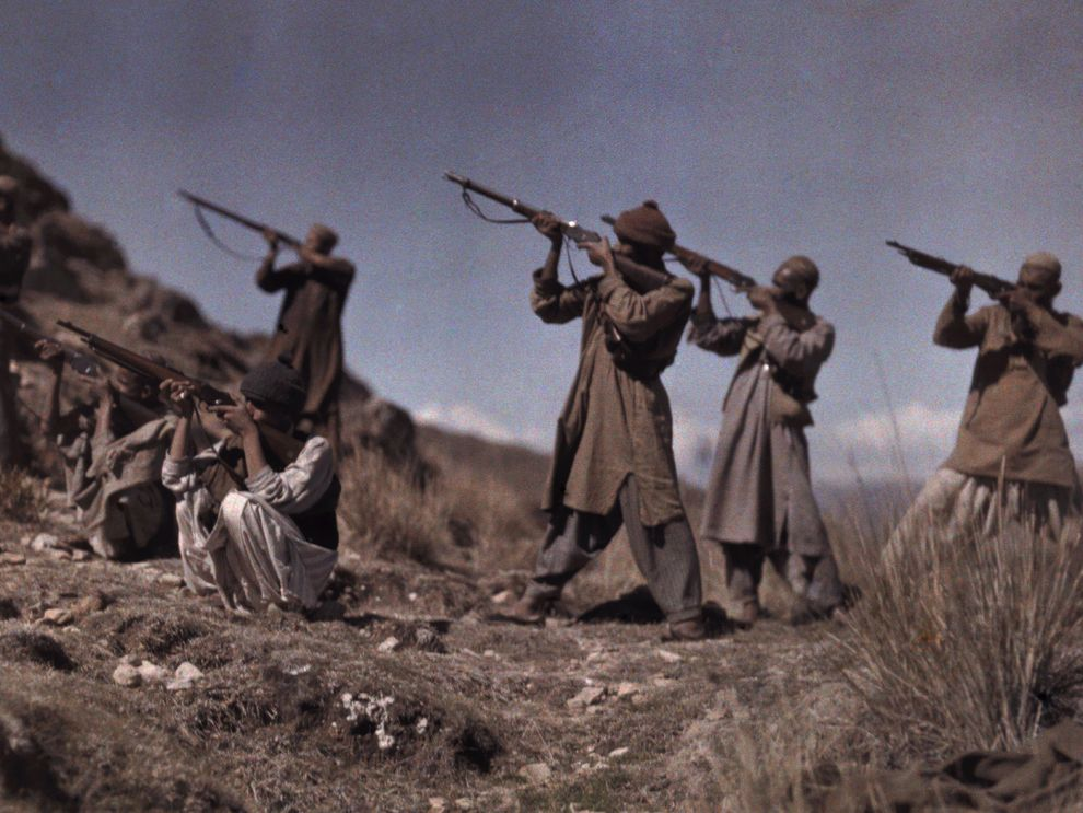 The Durand Line | National Geographic Society