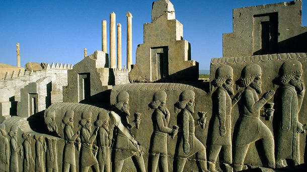 <p>The ancient city of Persepolis in modern-day Iran was one of four capitals of the sprawling Persian Empire. About 2,500 years ago, the Persians invaded what is now Afghanistan, seeking the riches of the Silk Road.</p>
