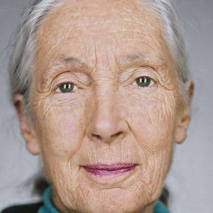 Photo: Recent photo of Jane Goodall