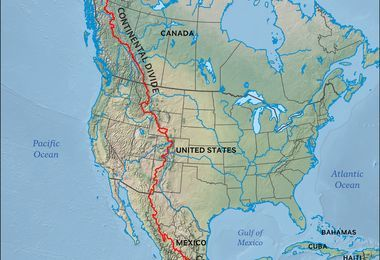 continental divide | National Geographic Society