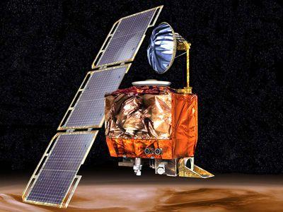 Illustration: An interplanetary weather satellite