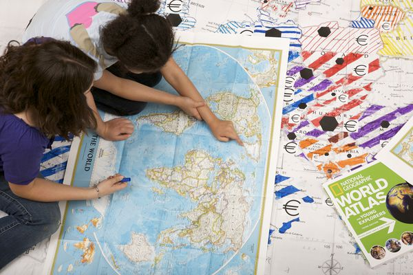 National Geographic Education National Geographic Society - What do the different types of maps tell us