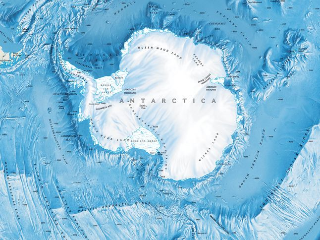 Map of Antarctica | National Geographic Society