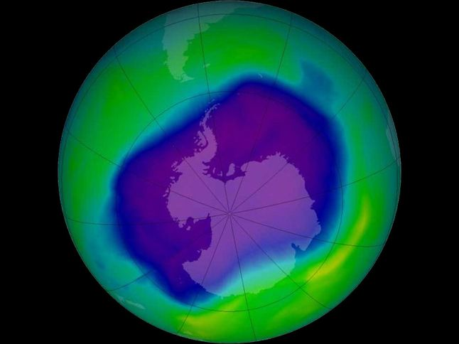 'Hole' In Ozone Layer