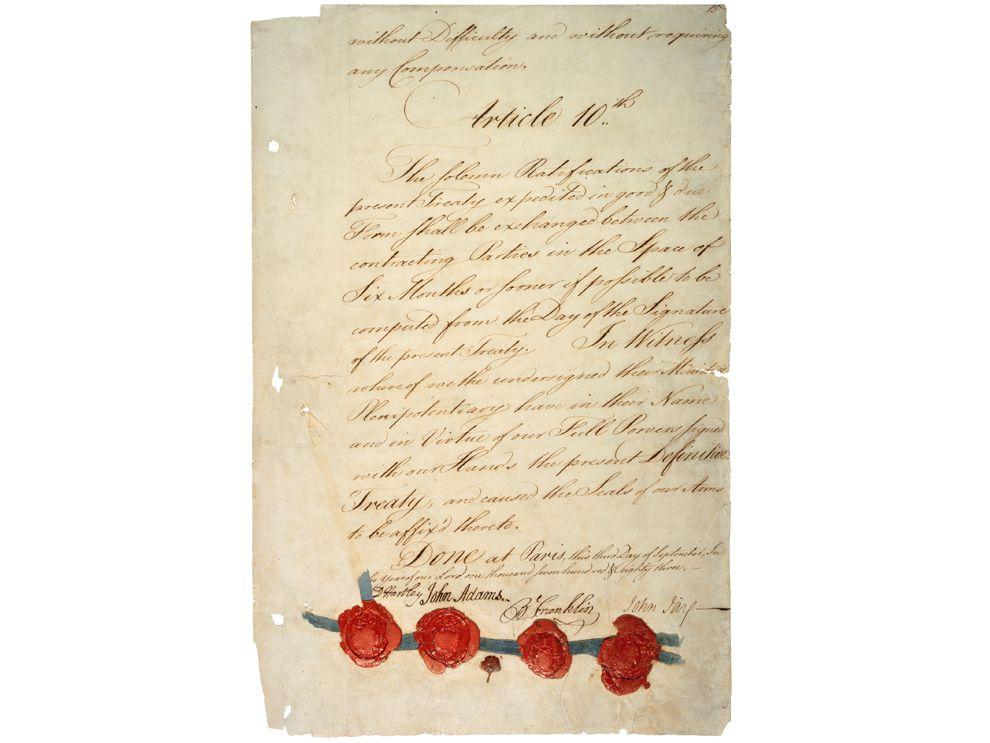 the treaty of paris essay