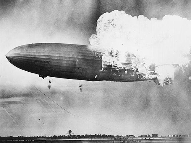 Hindenburg Blimp