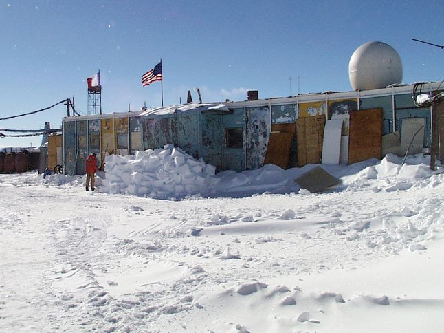 Russian Station in Vostok, Antarctica