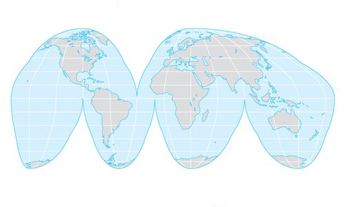 investigating map projections