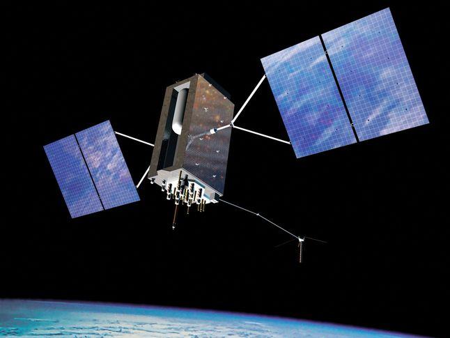 gps satellite national geographic society