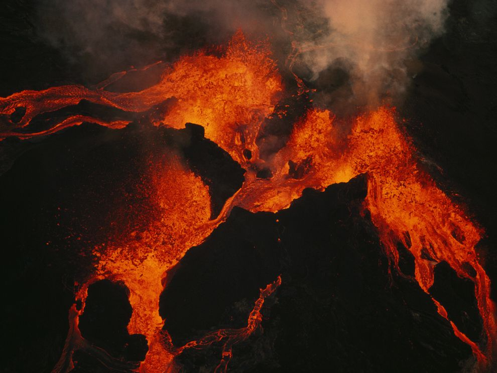 Hot Spot Volcanism National Geographic Society