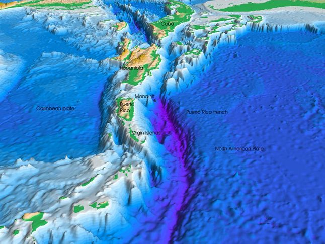 Puerto Rico Trench National Geographic Society