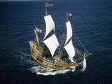 The Mayflower's Atlantic Crossing