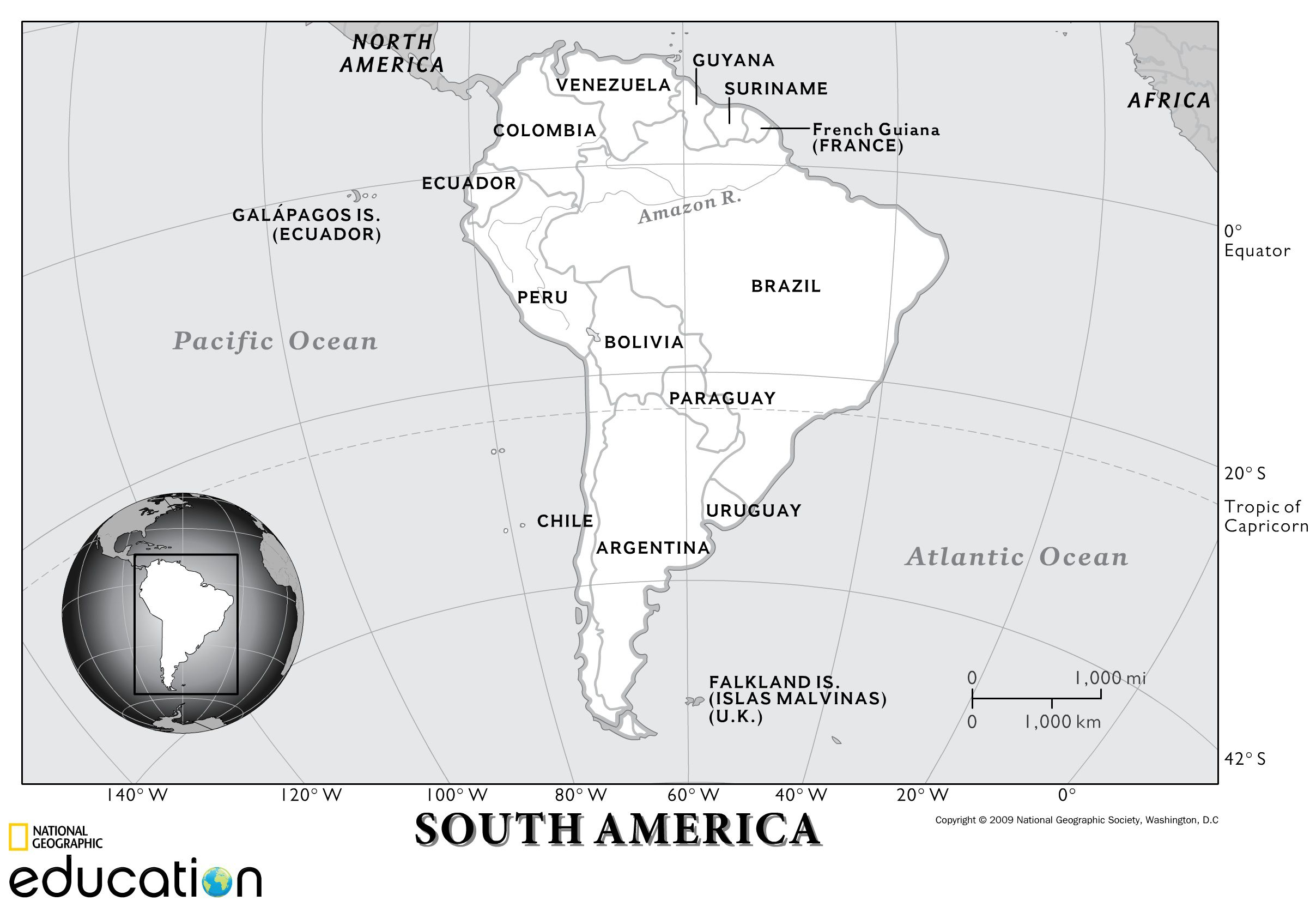 South America Human Geography National Geographic Society - Us-history-map-activities-answer-key-american-revolution