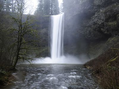 Photo: waterfall.