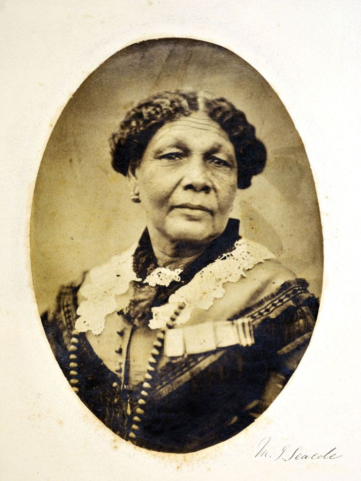 Mary Seacole was the author of Wonderful Adventures of Mrs. Seacole in Many Lands. The memoir details her adventurous life as a 19th-century entrepreneur. Seacole traveled from her home in Jamaica to Panama, England, and the Crimea (a peninsula in what is now Ukraine).
