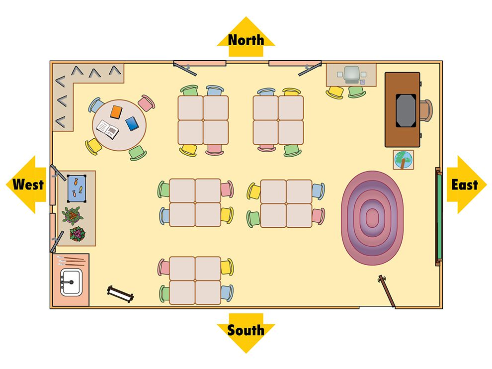 Classroom Design For Discussion Based Teaching ~ Classroom map national geographic society