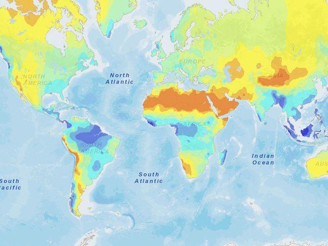 MapMaker Interactive: Precipitation