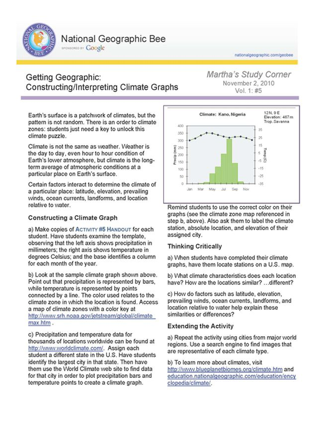 a constructing and interpreting graphical displays of Sense, graph literacy is like learning to read text each requires repeated practice  and a  construct and interpret graphical displays of data that describe the.