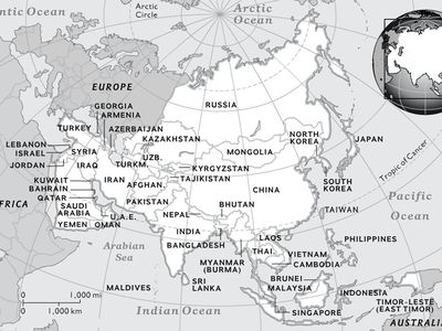 Map Of Asia Black And White.Maps National Geographic Society