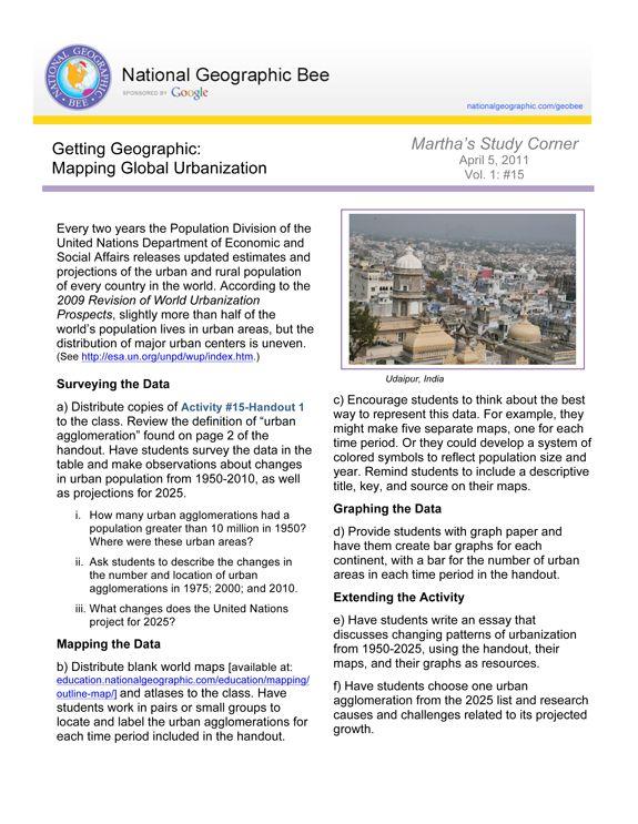 Mapping Global Urbanization | National Geographic Society