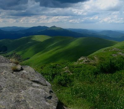 Photo: Tarnica's Bieszczady Mountains in southeast Poland