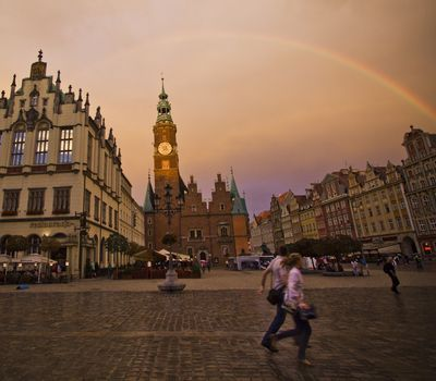 Photo: Old Town Square of Wroclaw, Poland