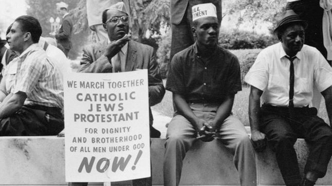 the role of martin luther king junior in the struggle for racial equality during the 1950s and the 1 Rev martin luther king a major event in the centuries-long struggle to help  black americans  the most notable freedom ride was one that left washington  dc on may 4, 1961 and was scheduled to arrive in new orleans, la on may 17   of racial equality (core) reverend martin luther king, jr,.