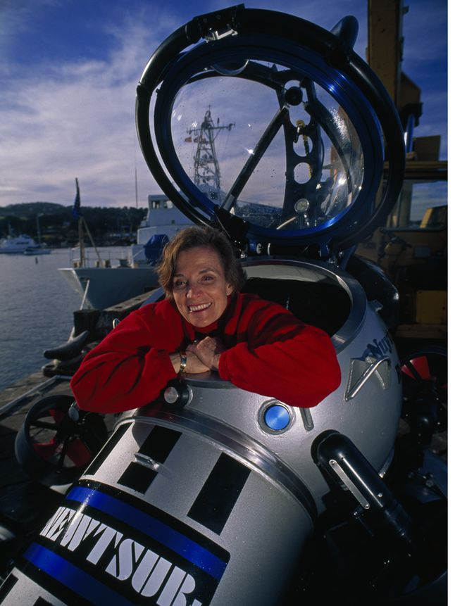 Oceanographer Sylvia Earle National Geographic Society