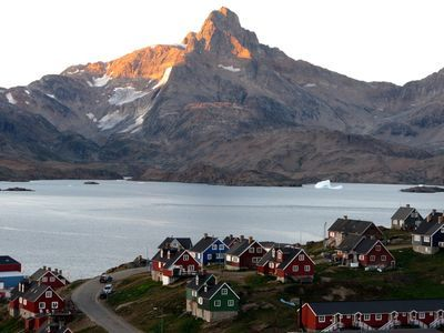 Photo: Fjord in Greenland.