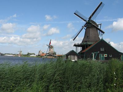 Photo: Windmills in the countryside