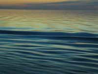Photo: Water currents at dusk