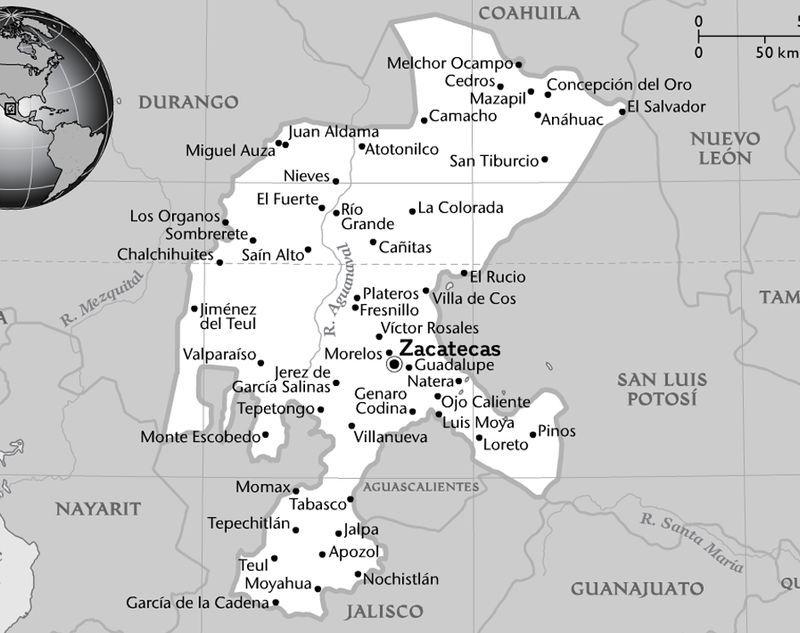 Jalpa Zacatecas Mexico Map.Maps National Geographic Society