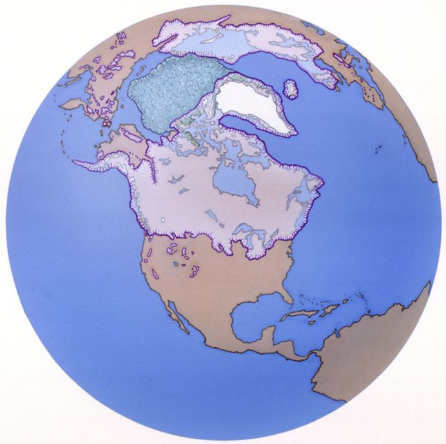 Laurentide ice sheet national geographic society although there are only two ice sheets today the pleistocene era featured ice sheets covering large parts of most continents only africa and australia did gumiabroncs