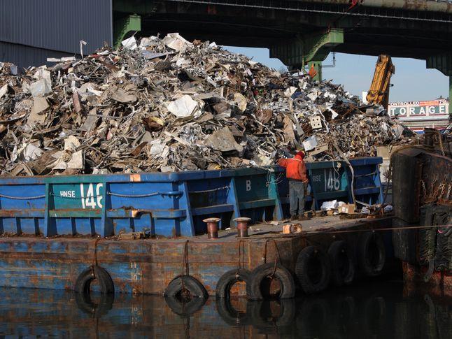 Garbage Barge