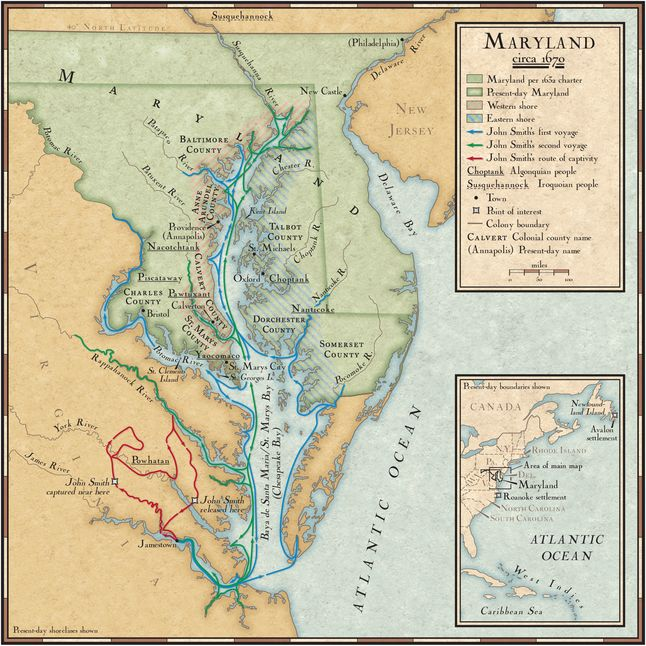 John Smith's Exploration Routes in the Chesapeake Bay ... on mobile bay map, james river, chesapeake bay bridge, maryland map, delaware map, ohio river, usa map, baltimore map, hudson bay, columbia river, delaware bay, delaware river, virginia map, chesapeake bay bridge-tunnel, intracoastal waterway map, great lakes, sierra nevada, appalachian mountains, hudson river, bering sea map, gulf of mexico map, united states map, susquehanna river, france map, arkansas map, potomac river, san francisco bay, alaska map, gulf of mexico, great lakes map, mississippi map, great basin map, atlantic map, river map, bristol bay map, missouri river, puget sound map, virginia beach,