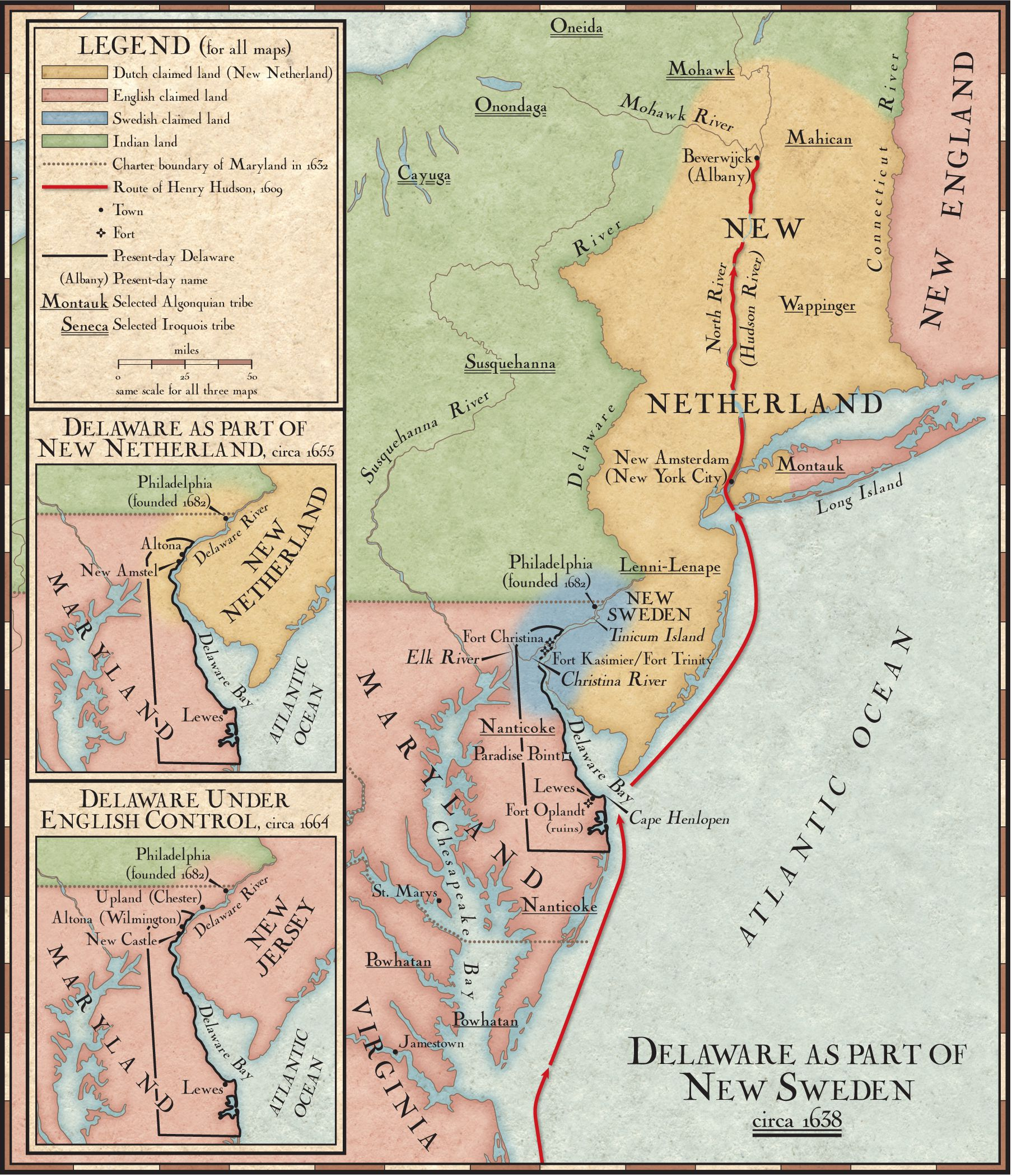 Delaware As Part Of New Sweden National Geographic Society - Sweden new map
